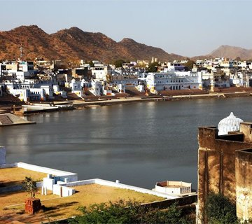 pushkar water circle area