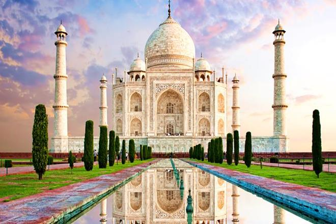 see the taj mahal
